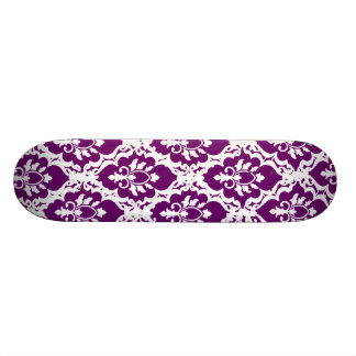 Pretty Purple Lace Skateboard Deck