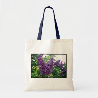 Pretty Purple Lilacs Tote Bags