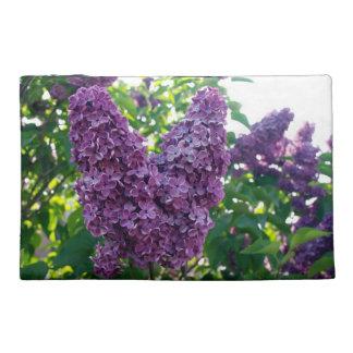 Pretty Purple Lilacs Travel Accessories Bags