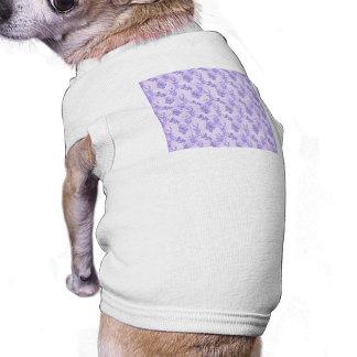 Pretty Purple Lilacs Doggie T-shirt