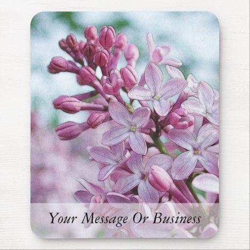 Pretty Purple Lilacs Mouse Pad