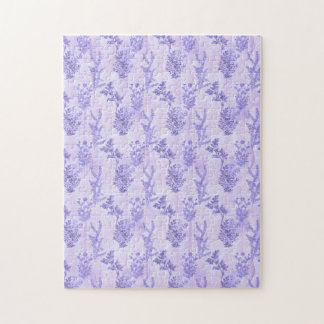 Pretty Purple Lilacs Jigsaw Puzzle