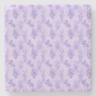 Pretty Purple Lilacs Stone Coaster