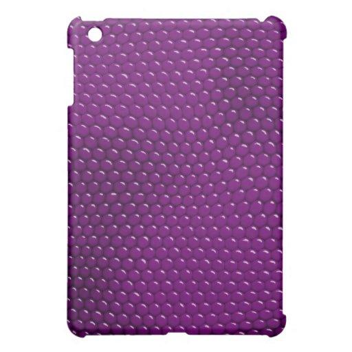 Pretty Purple Lizard Skin Scales iPad Mini Cases