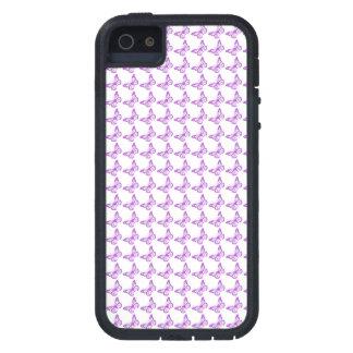 Pretty Purple Pain Awareness Butterflies iPhone SE/5/5s Case