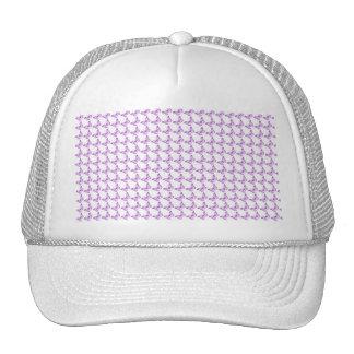 Pretty Purple Pain Awareness Butterflies Trucker Hat