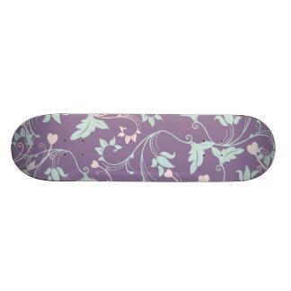 Pretty Purple & Pastels Skateboard Deck