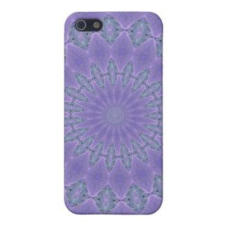 Pretty purple pattern iPhone SE/5/5s cover
