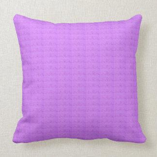 Pretty Purple Pattern Pillow
