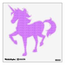 Pretty Purple Pattern Wall Sticker