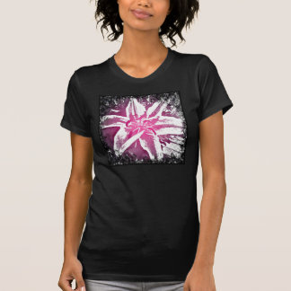 Pretty Purple Pink Watercolor Flower Art Prints T-Shirt