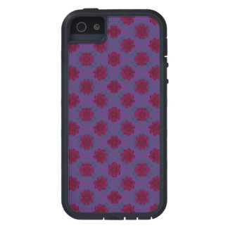 Pretty Purple Red Floral Pattern iPhone 5 Covers