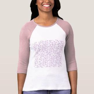 Pretty Purple Snowflakes T-Shirt