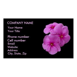 Pretty Purple Triplets Business Cards