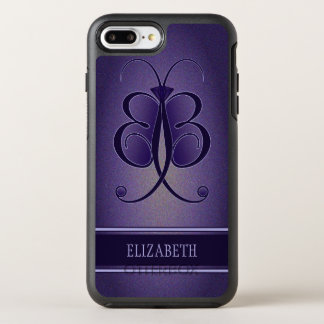 Pretty Purple Whimsical Butterfly OtterBox Robust OtterBox Symmetry iPhone 8 Plus/7 Plus Case