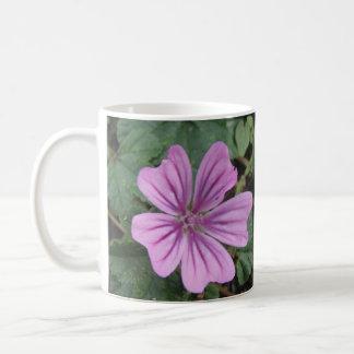 Pretty Purple Wildflower Mug