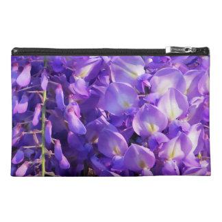 Pretty purple Wisteria flowers Travel Accessories Bag