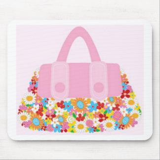 pretty purse girly mousepad