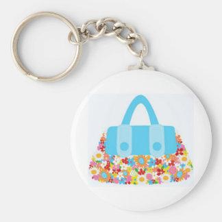 pretty purse keychain