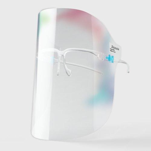 Pretty Rainbow Ombre Face Shield