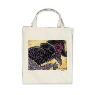 Pretty Raven - Tote Tote Bags