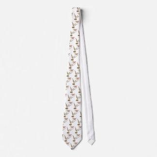 pretty realistic hummingbird neck tie