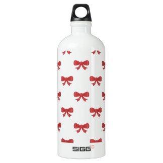 Pretty red bow pattern. SIGG traveler 1.0L water bottle
