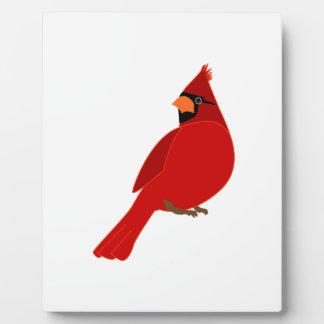 Pretty Red Cardinal Plaque