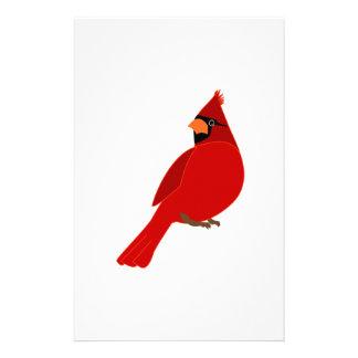 Pretty Red Cardinal Stationery