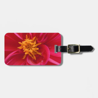 Pretty Red Dahlia - Whimsy Tags For Bags