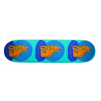 Pretty Red Kitty Skateboard Deck