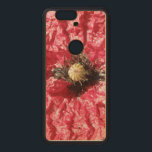 """Pretty Red Poppy Flower Macro Wooden Phone Case<br><div class=""""desc"""">This awesome Nexus case features a beautifully detailed photograph of a pretty red poppy flower. The photo was taken using macro photography to show the detail in the petals.</div>"""