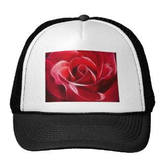 Pretty Red Rose Trucker Hat