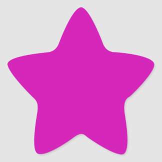 Pretty Red Violet Star Stickers