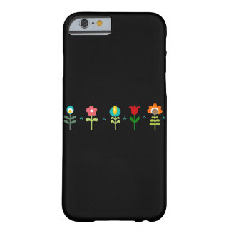 Pretty Retro folk flowers Barely There iPhone 6 Case