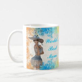 Pretty romantic best mom coffee mug