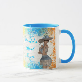 Pretty romantic best mom mug