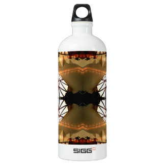 Pretty Romantic Unusual Nifty Abstract Design Aluminum Water Bottle
