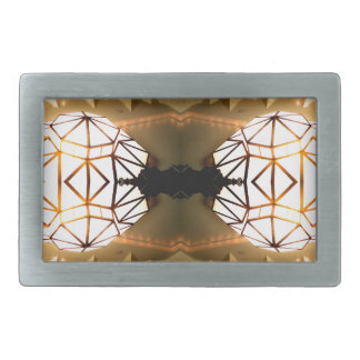 Pretty Romantic Unusual Nifty Abstract Design Rectangular Belt Buckles