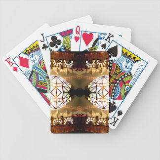 Pretty Romantic Unusual Nifty Abstract Design Bicycle Playing Cards