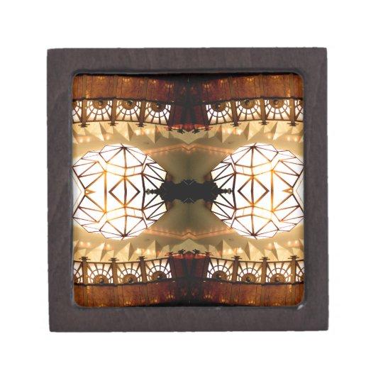 Pretty Romantic Unusual Nifty Abstract Design Gift Box