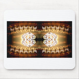 Pretty Romantic Unusual Nifty Abstract Design Mouse Pad