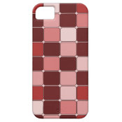 Pretty Rose Colored Mosaic Tile Pattern Gifts iPhone 5 Covers