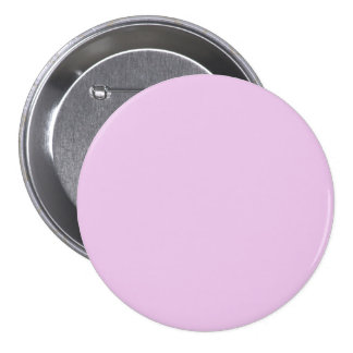 Pretty Rose Pink Solid Color Button