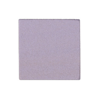 Pretty Rose Pink Solid Color Stone Magnet