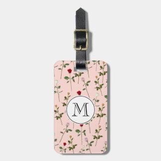 Pretty Roses Bag Tag