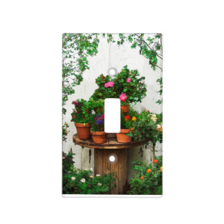 Pretty Roses Light Switch Cover