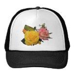 Pretty Roses Trucker Hats
