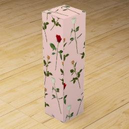 Pretty Roses Wine Gift Box