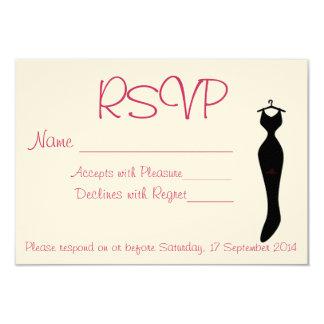 Pretty RSVP Invitations